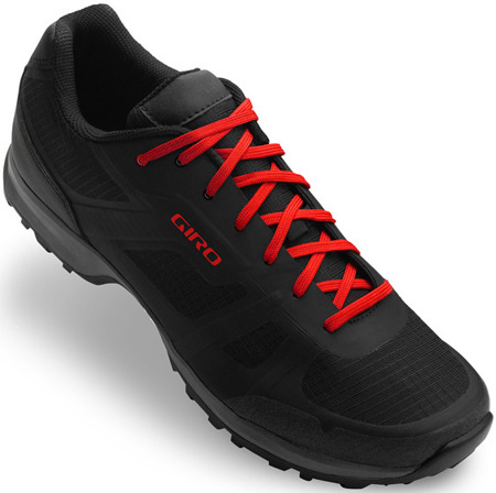 Buty męskie GIRO Gauge black bright red - SPD