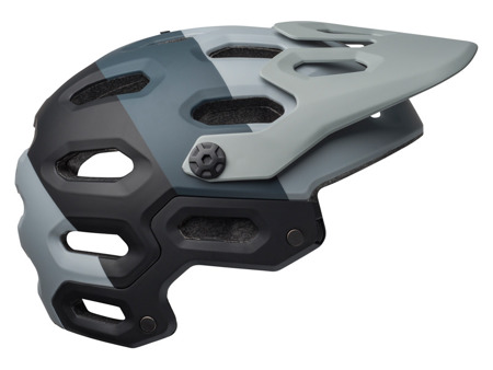 Kask full face BELL SUPER 3R MIPS downdraft matte gray gunmetal