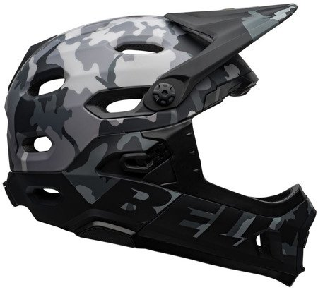 Kask rowerowy BELL Super DH MIPS matte gloss black camo