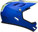Kask downhill BELL SANCTION agility matte blue green