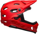 Kask rowerowy BELL Super DH MIPS SPHERICAL matte gloss crimson black
