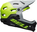 Kask rowerowy BELL Super DH MIPS spherical unhinged matte gloss gray green black